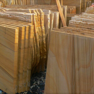 ss013 teakwood slabs~sandblasted finish