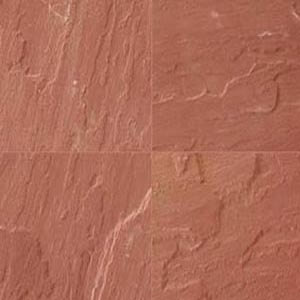 ss018 agra red natural~natural finish